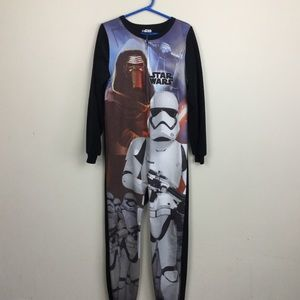 Other - Star Wars onesie boys footless sm 7/8